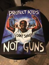 March For Our Lives - Micah Bazant - Protect Kids Not Guns Shepard Fairey Obey