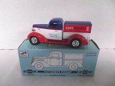 Spec Cast Spectacular News 1937 Chevy Pickup Die Cast Bank Liberty 1/25 Scale