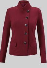 CAbi Outing Blazer/Jacket Fall 2016 Rhubarb Deep Red Size14 NWOT #3175