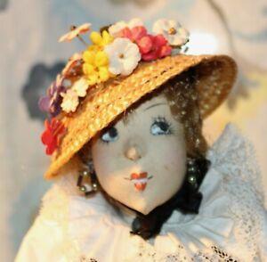 Vintage ILSE LUDECKE Doll SWISS WOMAN Germany