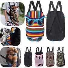New listing Pet Carrier Backpack Adjustable Pet Front Cat Dog Carrier Travel Bag #~