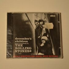 ROLLING STONES - December's children - 1986 US CD ABKCO FIRST PRESS NEW & SEALED