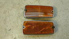 1981 Yamaha XS650 Custom XS 650 Y312. amber reflectors and bases