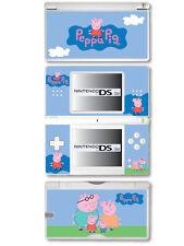 PEPPA PIG Vinile Autoadesivo per Nintendo DS Lite