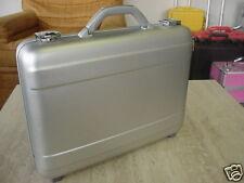 "2 Top-Quality Brand New Molded Aluminum 4"" Case (TZ AC-44 S) Attache Briefcase"