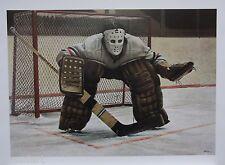 Ken DANBY At The Crease art print Goalie Goaltender Hockey MINT - NEW Large