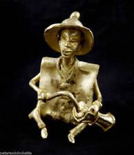 MUSICIEN LAITON DJEMBE ART TRIBAL ANCETRE AFRICAIN 1