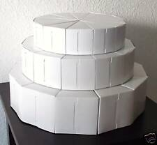 3 TIER CAKE SLICE FAVORS BOX BOXES WEDDING SHOWER BABY