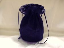 BLACK LACE AND SATIN BRIDAL DOLLY BAG.WEDDING / EVENING