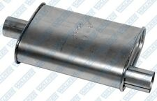 Walker Exhaust Muffler Thrush Turbo 2 Inlet/2 Outlet Steel Aluminized Each 17702