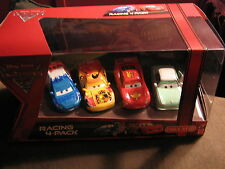 DISNEY CARS 2 RACING 4-PACK MIGUEL RAOUL MCQUEEN & DENISE BEAM