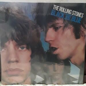 1975__1st PRESS__ROLLING STONES__Black & Blue LP__Sealed promo hole COC 79104