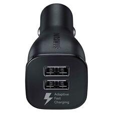 Samsung Original EP-LN920 Caricabatterie Doppia USB auto Carica Rapida adattiva