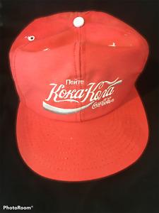 Coca-Cola Vintage Russian USSR Snapback Logo Cap Hat Retro Rare Koka Kona NWT