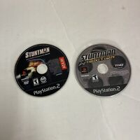 Stuntman 1 & Ignition (Sony Playstation 2 ps2) Disc Only Free Shipping