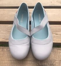 MERRELL Ladies Grey Leather  Slip On Walking Shoes UK 6.5