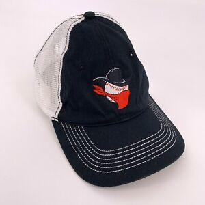 Bandit Baseball Outlaw Black Embroidered Snap Back Hat Womens Cap Team Mom