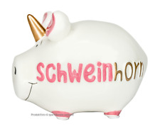 KCG Sparschwein ♥ SCHWEINHORN ♥ Spardose Einhorn Schwein, lustige Geschenkidee