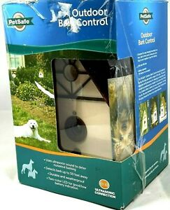 PetSafe Outdoor Ultrasonic Bark Control Birdhouse NEW