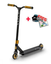 Slamm Classic VII Complete Stunt Scooter - Black/Gold + FREE STICKERS/WRISTBAND
