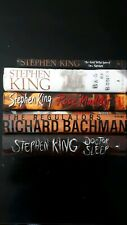 Stephen King First Editions Book Lot