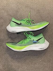 Mens Size 9.5 - Nike ZoomX Vaporfly Next Electric Green 2019