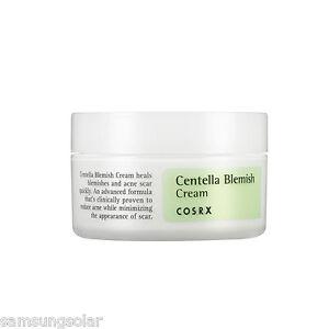 COSRX Centella Blemish Cream 30ml improves acne and relieves stressed skin