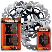 Honda FR+R High Performance Brake Disc Rotor + Pads CBR 600 F4i [2001-2006] NEW