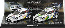 Ford Focus RS WRC Rallye Mexico 2004 Winner´s Set - 2 Cars 1:43 Minichamps