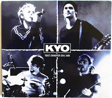 "KYO - RARE CD SINGLE DIGIPACK ""TOUT ENVOYER EN L'AIR"""