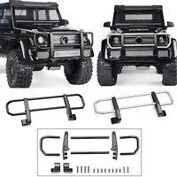 GRC Metal Front Bumper Bar Pour Traxxas TRX-4 TRX-6 Benz G63 G500 RC Crawler Car