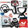 """Minelab X-Terra 305 Metal Detector with 9"""" Search Coil, Gloves & Tool Pouch"""
