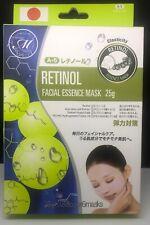 Mitomo Retinol Facial Essence Facial Sheet Mask 6/Pack MT512A5