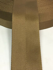 3 Inch MilSpec Military Webbing MIL-W-4088 T/8A C/1A COYOTE (MARPAT) Per Yard