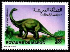 SELLOS DINOSAURIOS MARRUECOS 1987 1046 CETIOSAURUS 1v