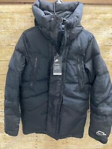 Nike Sportswear Down-Fill Repel Parka Jacket Black Men's Size XS (CU4392-010)