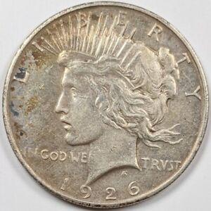 1926-D Peace Silver Dollar 184750B