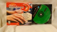 Rare Learn Microsoft Windows XP PC CD-Rom Software                        cd4160
