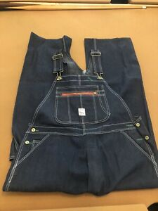 Vintage Pointer Brand Denim Overall Bibs NOS NWOT USA Workwear sz 40x30?