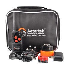 AETERTEK 550M Remote Static Shock Dog Training Collar Rechargeable Waterproof