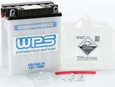 WPS 1987-1999 Yamaha XV535 Virago BATTERY W/ACID CB12AL-A / CB12 AL-A2 CB12AL-A2