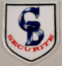 Securite C B Security  Uniform Patch #Mswh