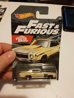 Hot Wheels 2019 Fast and Furious walmart - 1970 70 monte carlo beige #4/6
