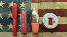 Elizabeth Arden & Etude House Lip Balms, L.A. Colors lipstick & Juicy Shaker