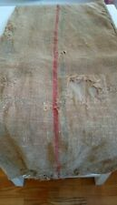Antique vintage GRAIN SACK feedsack Rustic hemp Natural Primitive GRAINSACK