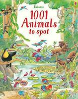 1001 Animals to Spot (1001 Things to Spot) by Ruth Brocklehurst, NEW Book, FREE