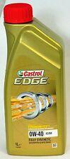 CASTROL EDGE 0W-40 A3/B3/B4 FULLY SYNTHETIC FOR PETROL & DIESEL ENGINES - 1LTR