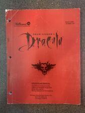 Dracula Williams Pinball Manual