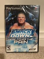 WWE Smackdown! Here Comes The Pain - PS2 Sealed