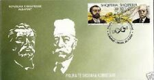 Albania stamps 2000. National Famous Figures. FDC MNH. Michel 2778-2779